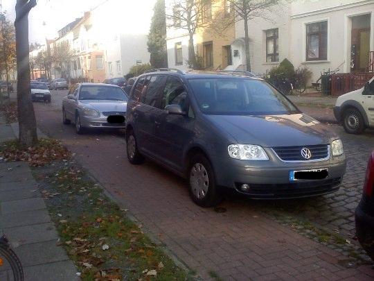 Parkplatzerweiterung, Bremen