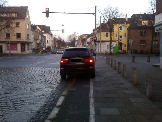 Radweg zu, Bremen